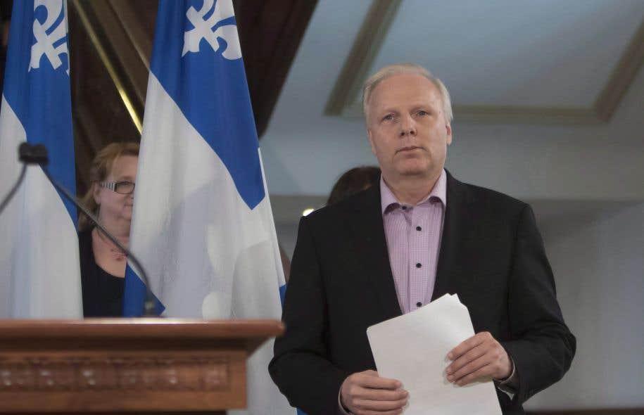 Jean-François Lisée est favorable à l'instauration d'un mode de scrutin proportionnel mixte régionalisé