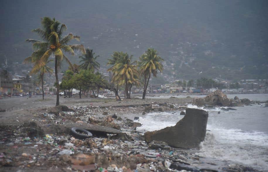 Rafales et montées des eaux à Miami — Ouragan Irma