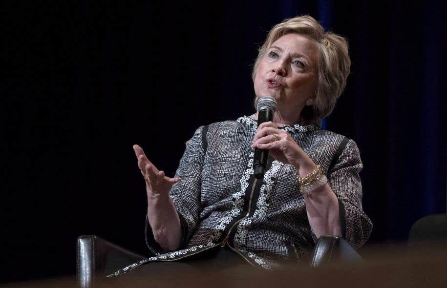 Hillary Clinton était à New York en juin dernier.