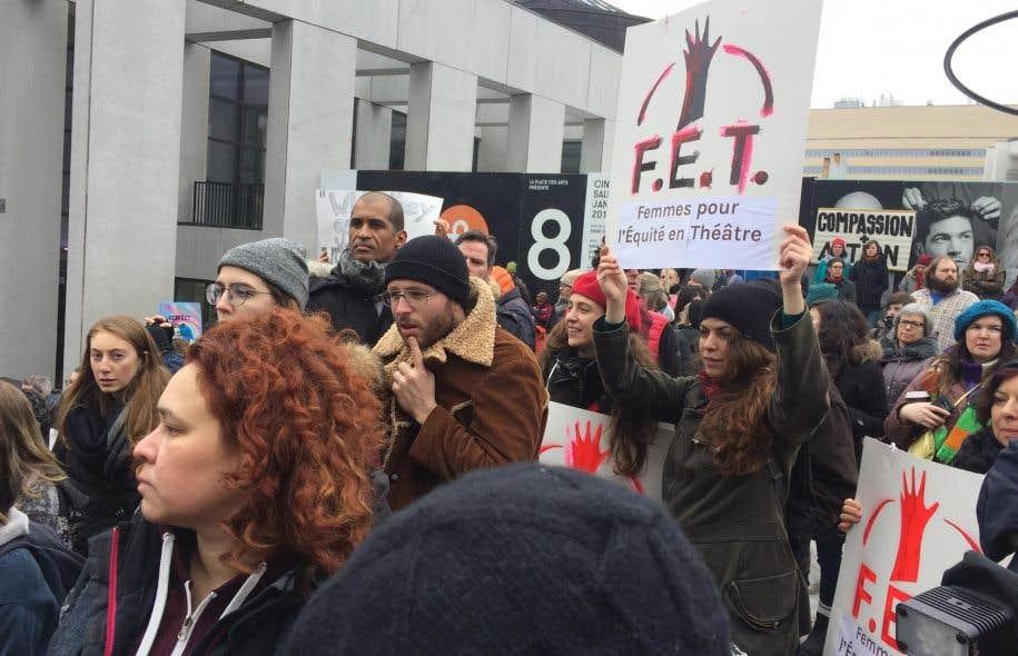 Manifestation en janvier 2017