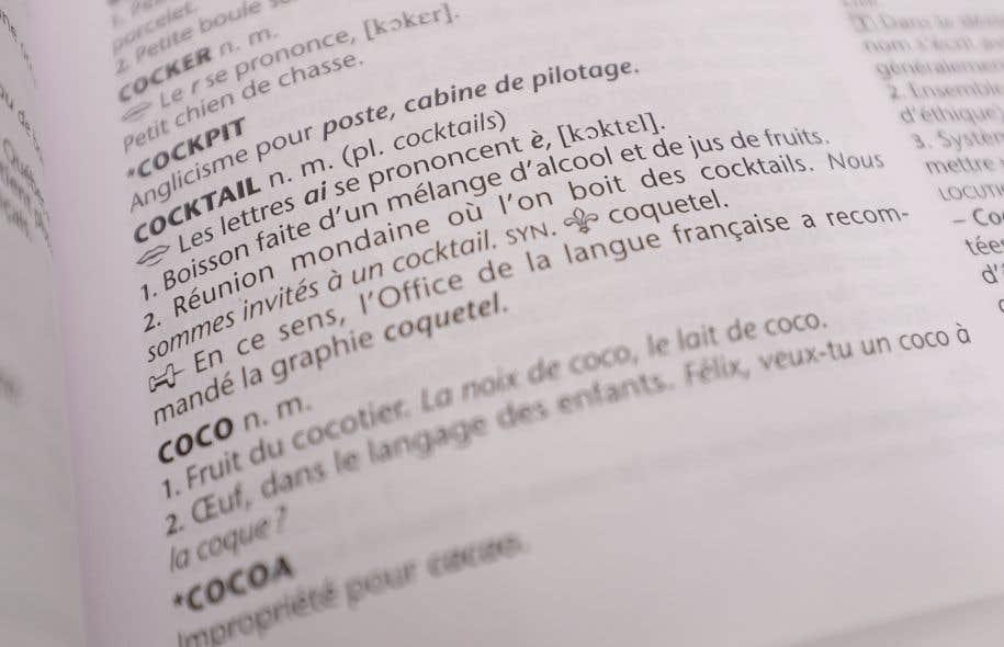 L oqlf ouvre la porte aux anglicismes le devoir - Office de la langue francaise ...