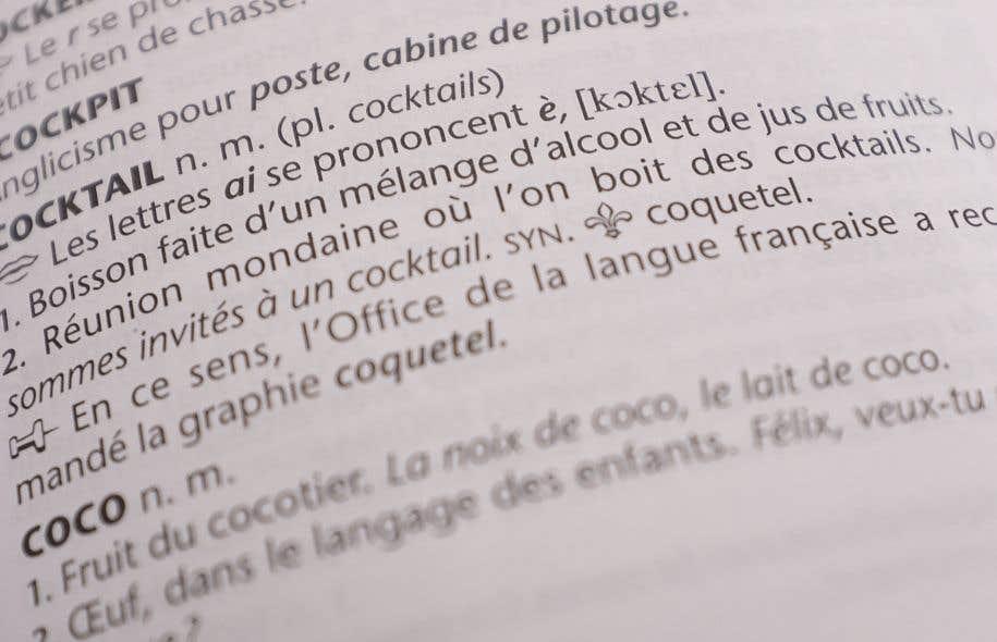 Est ce un anglicisme selon l 39 oqlf le devoir - Dictionnaire office de la langue francaise ...