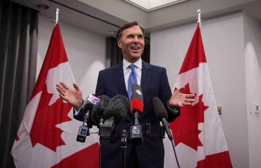 En annonçant ses couleurs en juillet dernier, le ministre des Finances, Bill Morneau, a enclenché une période de consultation de 75 jours, qui prendra fin le 2 octobre.
