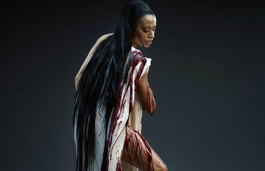 L'affiche de «Stabat Mater», des Grands Ballets canadiens, met en scène la danseuse Vanesa Garcia-Ribala Montoya.