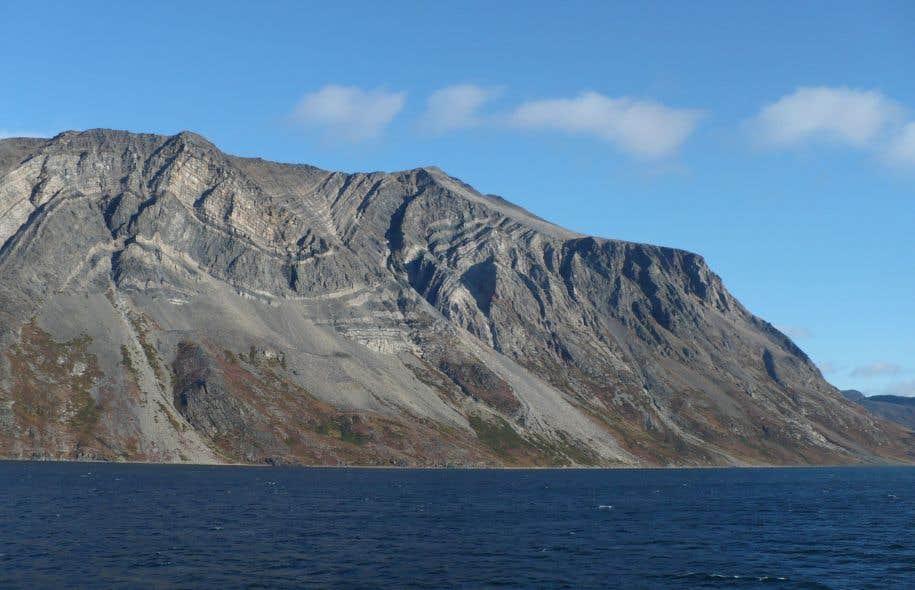 La zone de Saglek Block, dans le nord du Labrador, dont les roches ont environ 3,95 milliards d'années