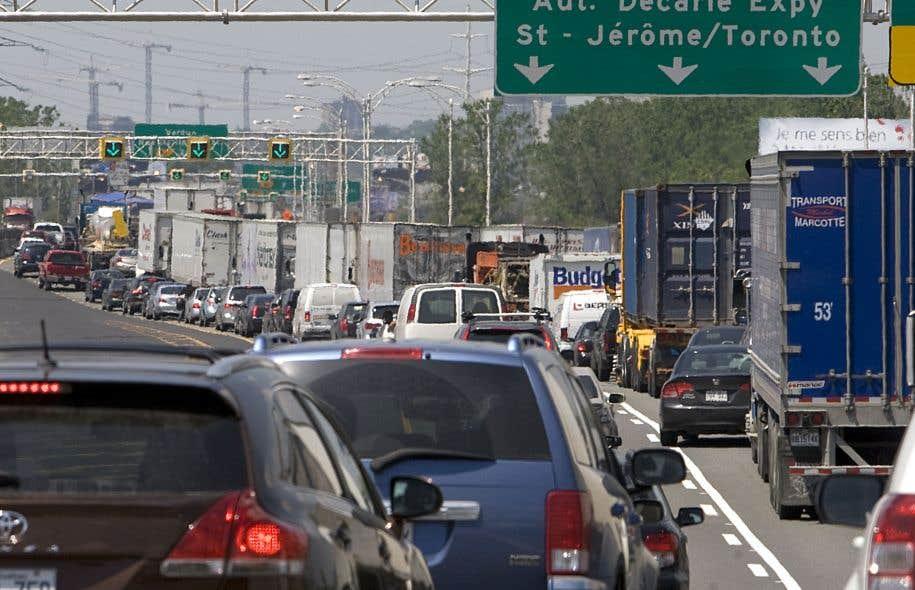 Le coût de la congestion est évalué à 2 milliards pour la métropole.
