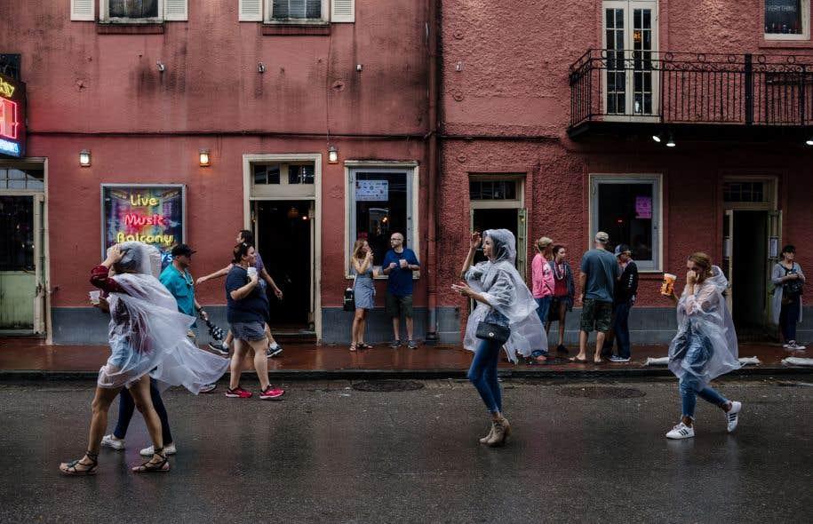 Moins puissant que redouté, «Nate» a rappelé à la Nouvelle Orléans les douloureux souvenirs du passage de l'ouragan «Katrina».