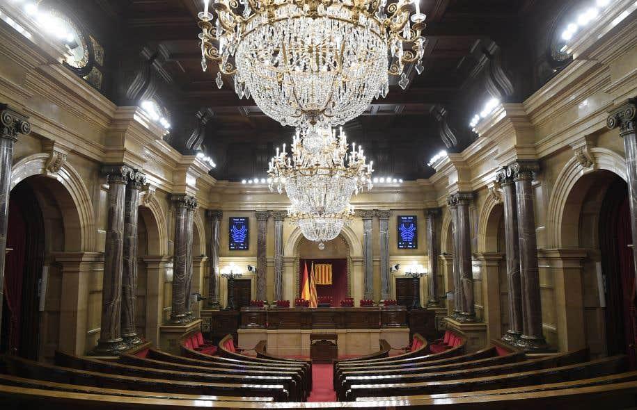 Le parlement régional de Catalogne, à Barcelone.