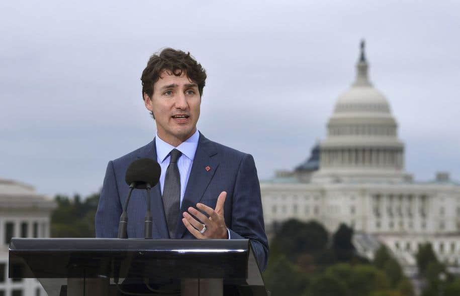 Justin Trudeau a rencontré mercredi son homologue américain alors qu'à quelques kilomètres de la Maison-Blanche s'entamait la quatrième ronde de renégociation de l'Accord de libre-échange nord-américain.