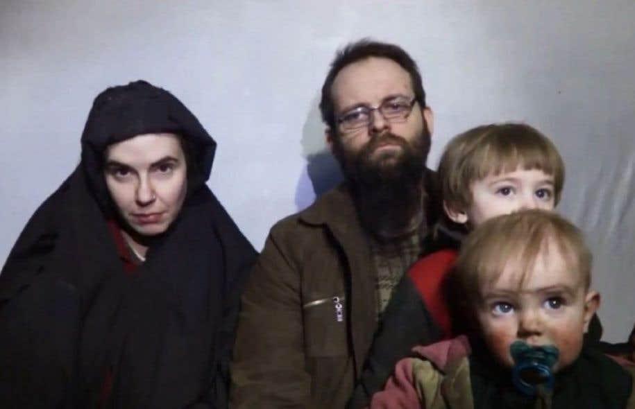Le Canadien Joshua Boyle, son épouse américaine Caitlan Coleman et deux de leurs enfants étaient apparus en décembre 2016 dans une vidéo des insurgés afghans.