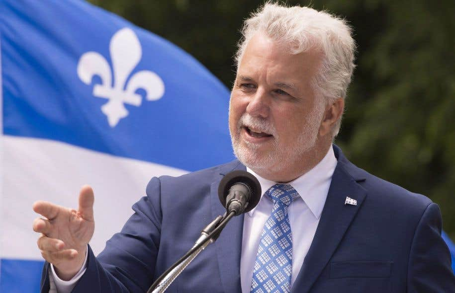 Le premier ministre Philippe Couillard