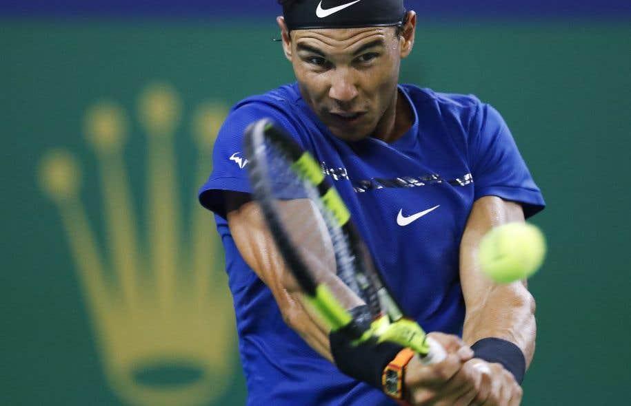 En quarts de finale, Nadal croisera le fer avec le Bulgare Grigor Dimitrov.