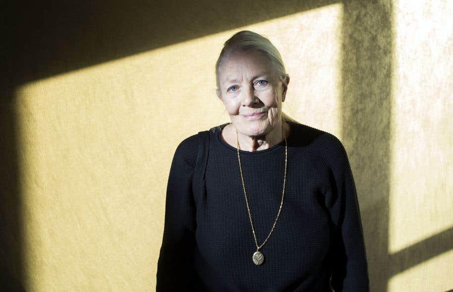 L'actrice et militante Vanessa Redgrave