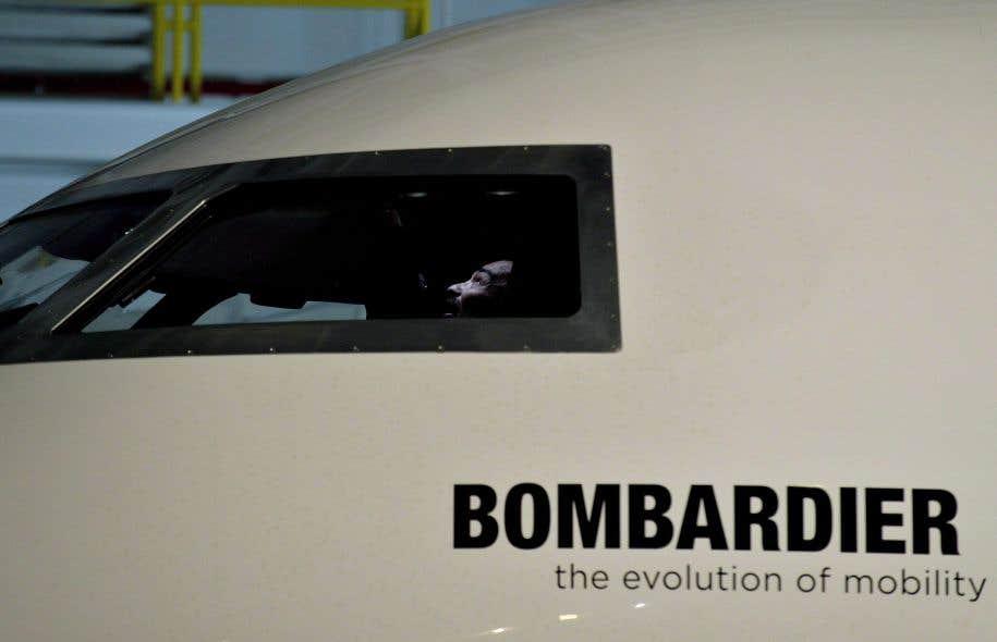 Bombardier étudie plusieurs options pour son pôle aéronautique