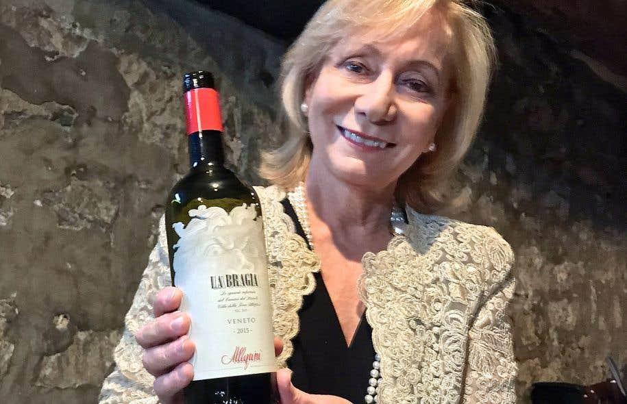 Marilisa Allegrini: une passion pour le marbre, la verrerie fine et… le vin