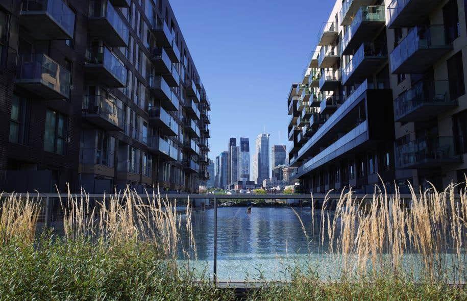 Montréal a démontré son «potentiel» pour obtenir le statut de Ville UNESCO de design en 2006. Sur la photo, on aperçoit le quartier Griffintown.