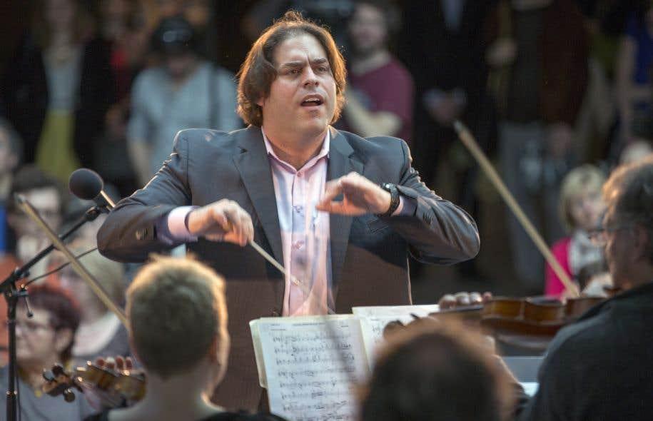 Le chef d'orchestre Jean-Marie Zeitouni