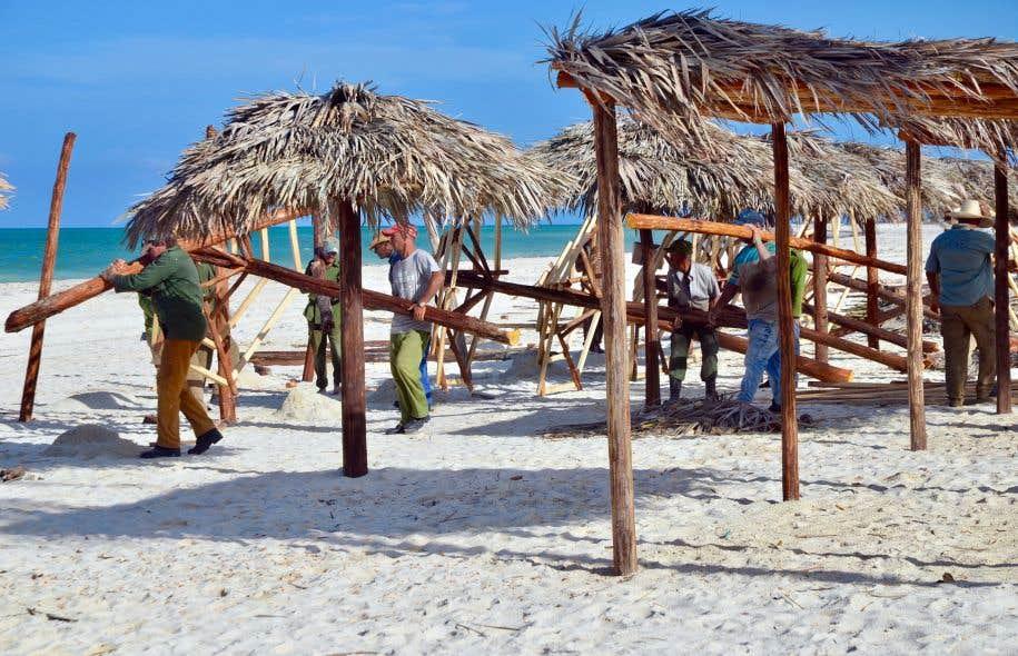 Les Cubains ont travaillé jour et nuit, sept jours sur sept, pour remettre les Cayos en état.