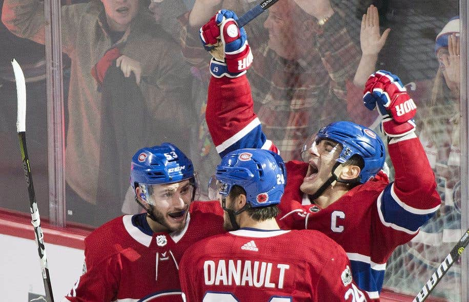 Le capitaine du Canadien, Max Pacioretty, a marqué le but vainqueur en prolongation.
