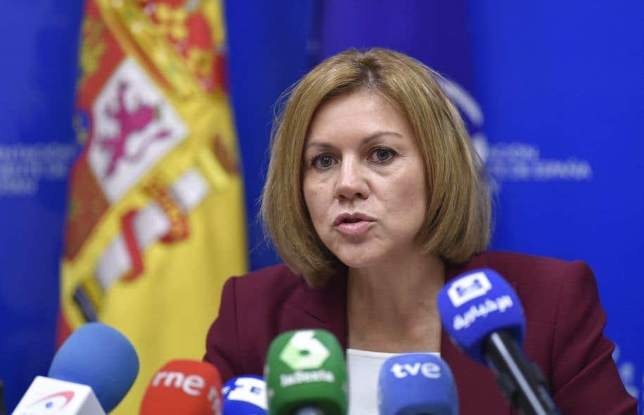 «Un grand nombre de ces actions [de désinformation] venaient du territoire russe», a affirmé la ministre espagnole de la Défense, María Dolores de Cospedal.