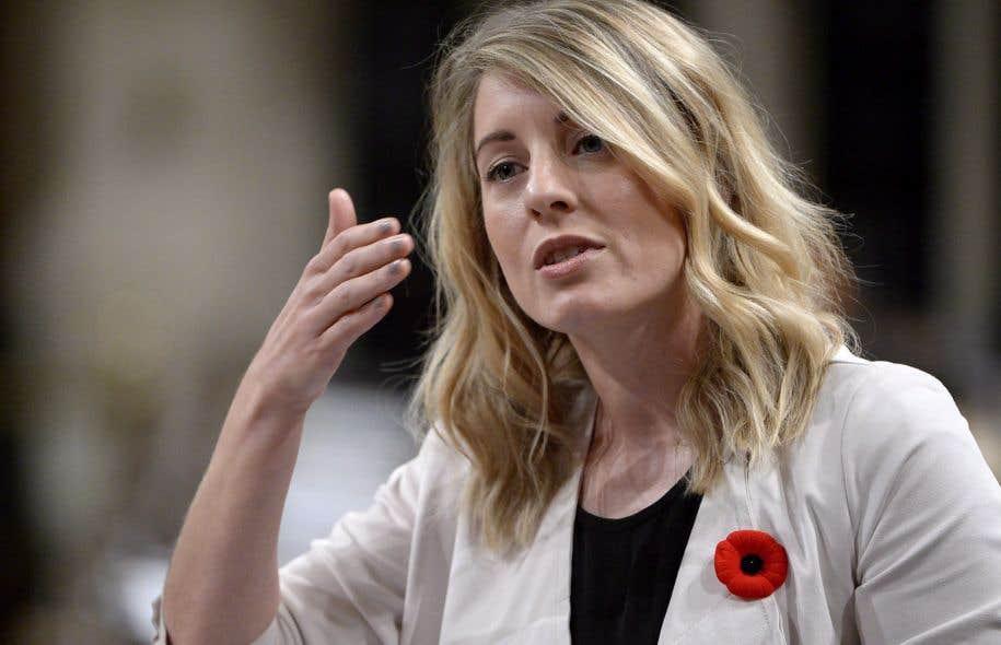 La ministre du Patrimoine canadien, Mélanie Joly
