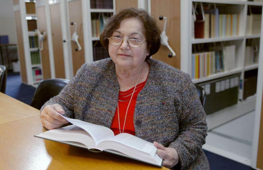 L'auteure et anthropologue française Françoise Héritier