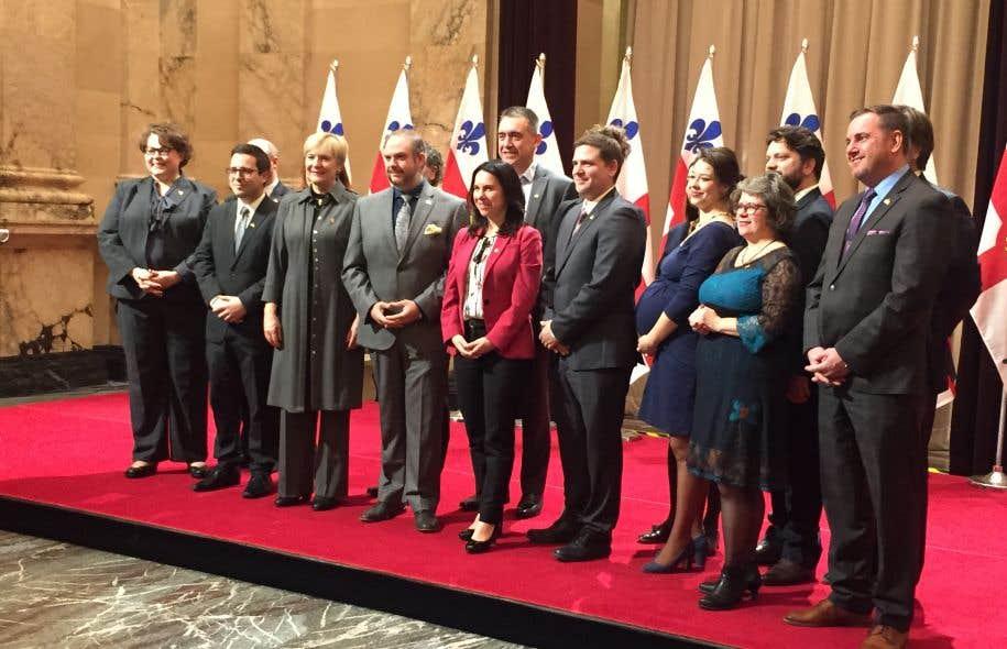 Le comité exécutif de la mairesse Valérie Plante est composé de 13 élus, et sa première réunion est prévue mercredi.