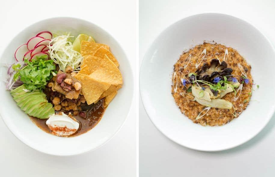 Même si le chef Markus Dresler n'est pas végétarien, le menu qu'il a conçu au Santa Barbara l'est à 80%.