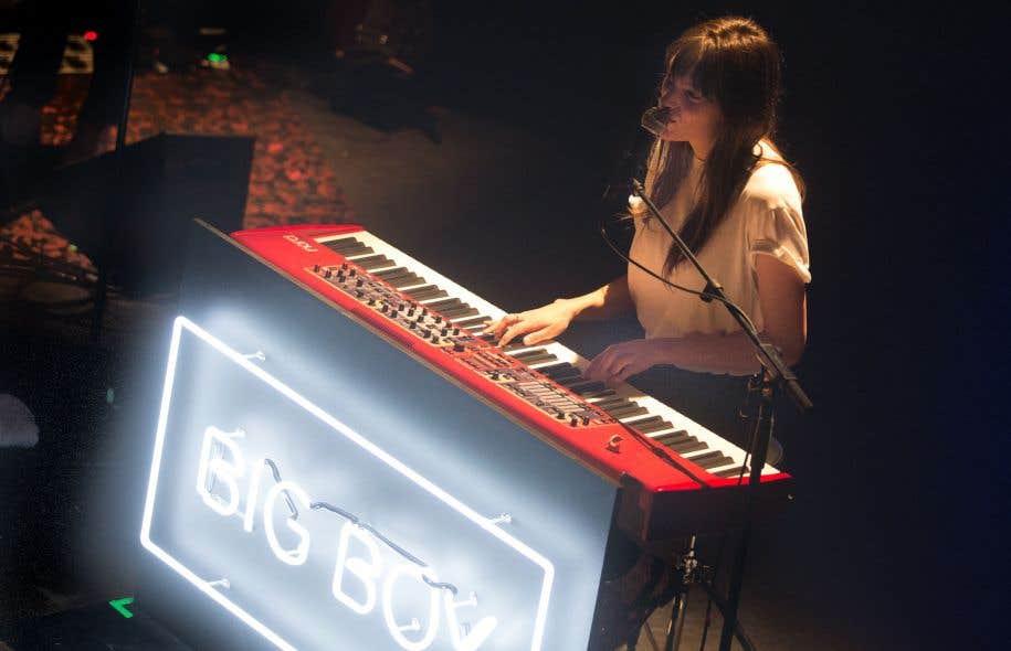 Charlotte Cardin lors du Festival international de jazz de Montréal de 2017