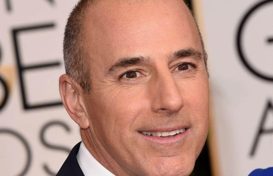 Harcèlement sexuel: licenciement du présentateur vedette de NBC News Matt Lauer
