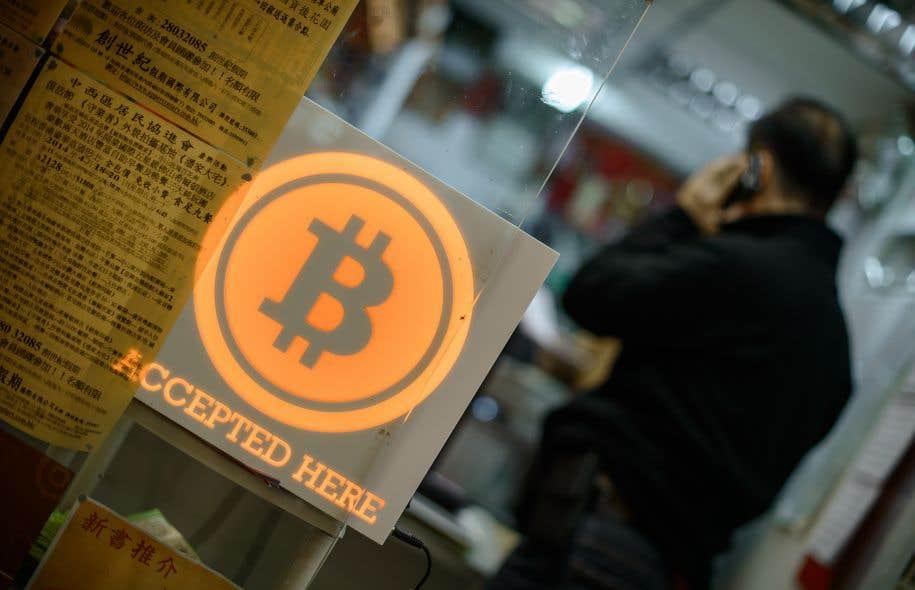 Apparu en 2008, le bitcoin valait autour de 1000 $ en début d'année. Il est monté mercredi jusqu'à 11 434 $.