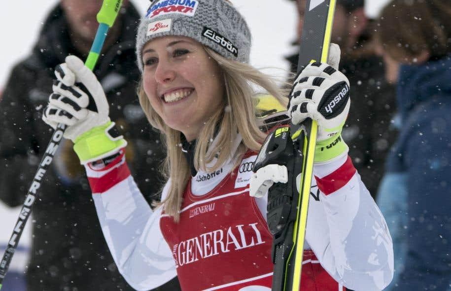 L'Autrichienne Cornelia Hüttera surpris les favorites.