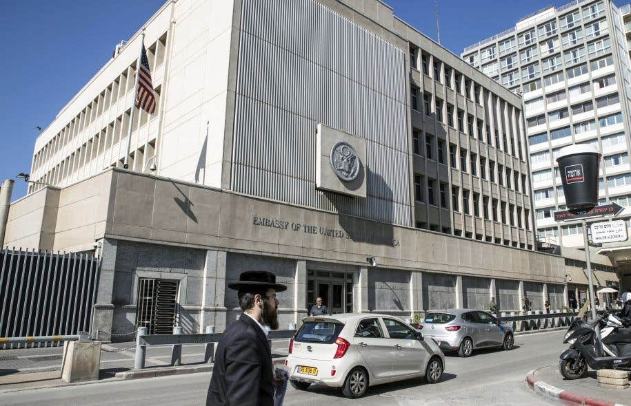 L'ambassade des États-Unis de Tel-Aviv