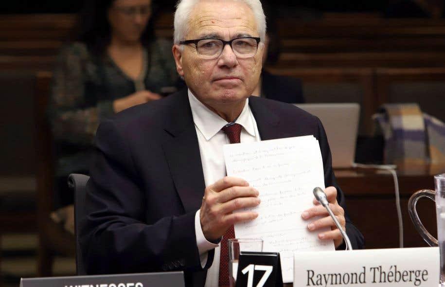 Candidat au poste de commissaire aux langues officielles, Raymond Théberge a comparu mardi devant un comité parlementaire.