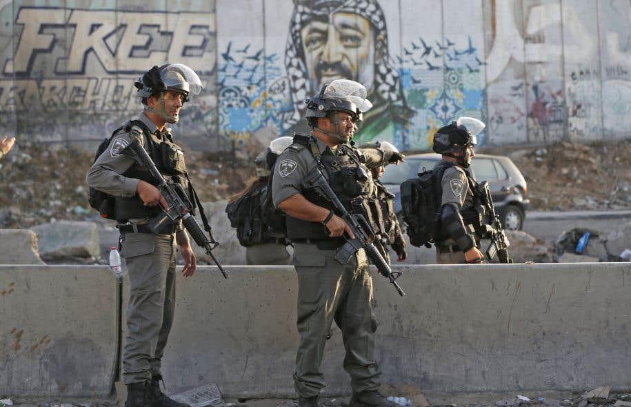 L'armée israélienne riposte à des tirs de projectiles depuis Gaza