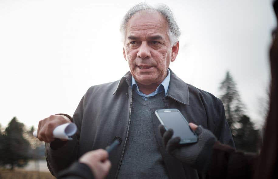Le chefde l'Assemblée des Premières Nations du Québec et du Labrador, Ghislain Picard