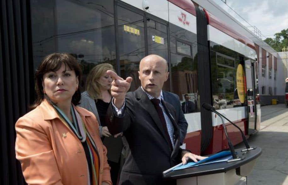 Andy Byford occupe le poste de directeur du métro de Toronto depuis 2011.