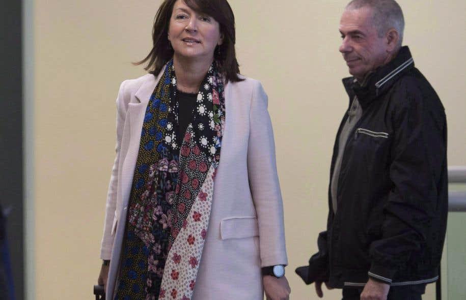 Nathalie Normandeau demande l'arrêt des procédures — Procès