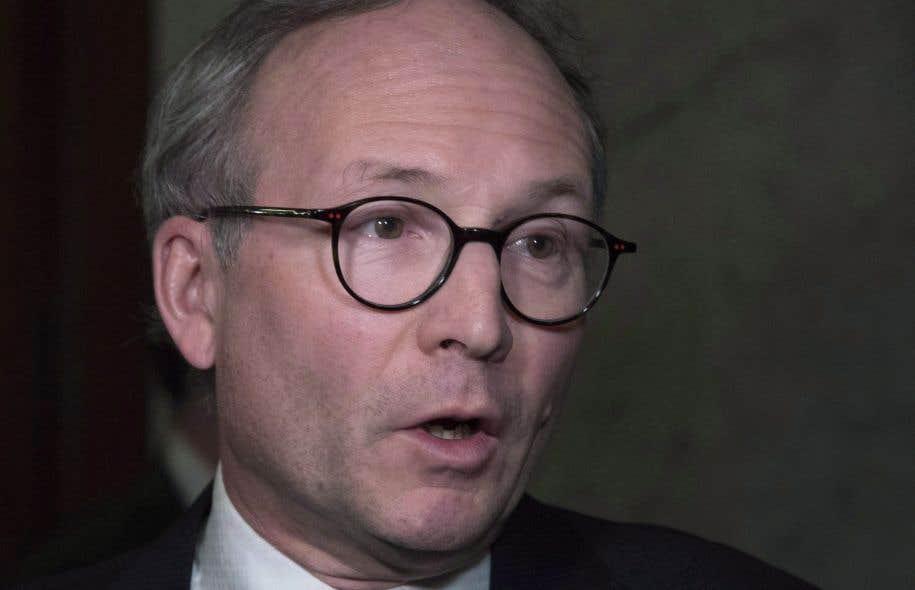 Le ministre de la Sécurité publique, Martin Coiteux