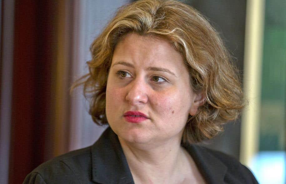 La présidente de la CSDM, Catherine Harel Bourdon, a refusé de se soumettre aux coupes décrétées par le gouvernement Couillard au nom de la «rigueur budgétaire».