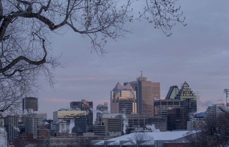 La Ville de Montréal a invité les participants à «s'habiller pour braver des conditions de froid polaire».
