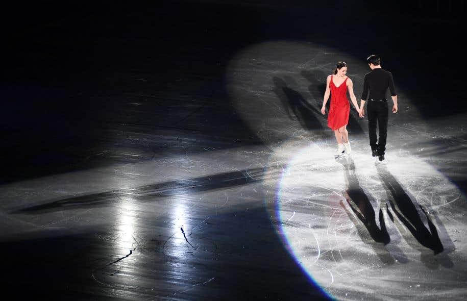 Tessa Virtue et Scott Moir se voient sur la plus haute marche du podium aux Jeux olympiques avant de tirer un dernier trait sur leur carrière en patinage artistique.