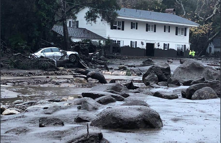 Au moins 13 personnes tuées dans des coulées de boue — Californie
