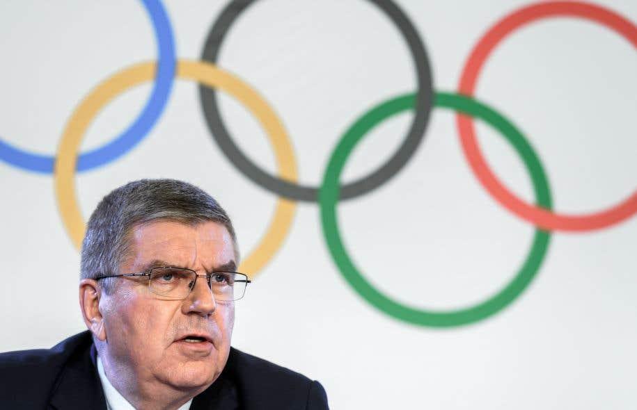 Le grand patron du CIO, Thomas Bach
