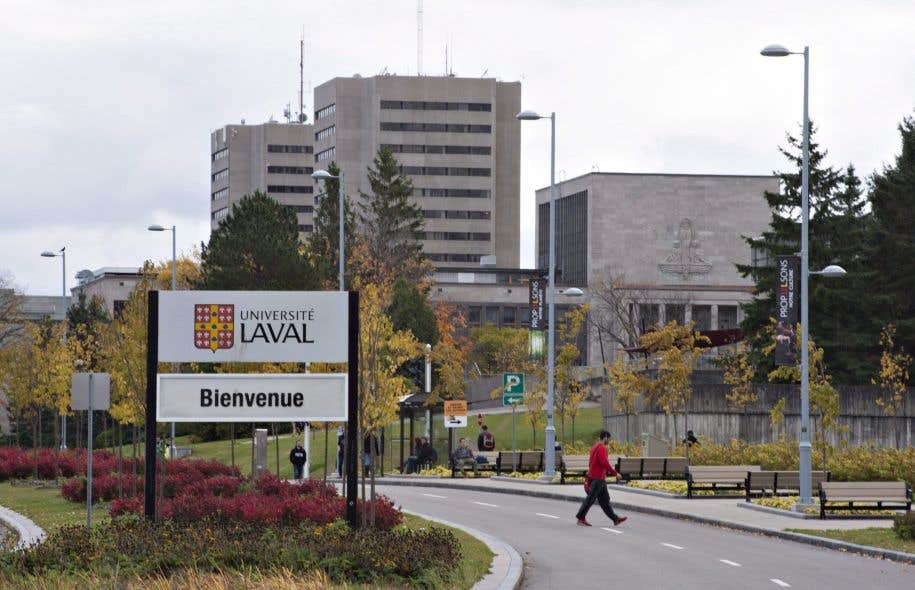 L'Université Laval, en octobre 2016
