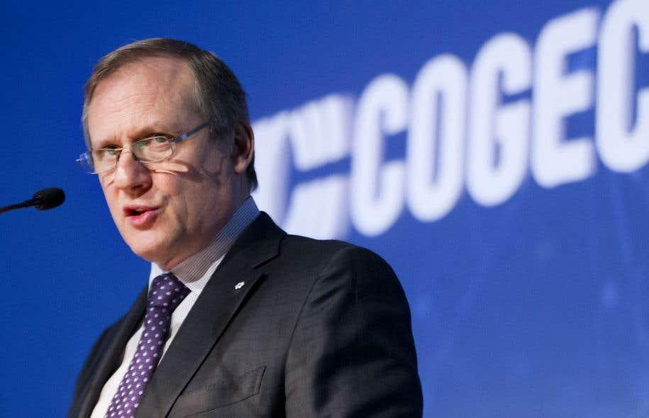 Le président et chef de la direction de Cogeco, Louis Audet, a souligné que l'entreprise s'affairera à réduire son niveau d'endettement.<br />