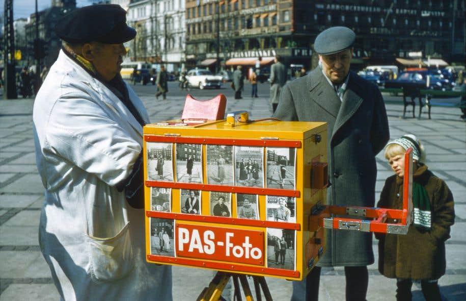 «PAS-Foto», Copenhague, DNK, vers 1956, anonyme
