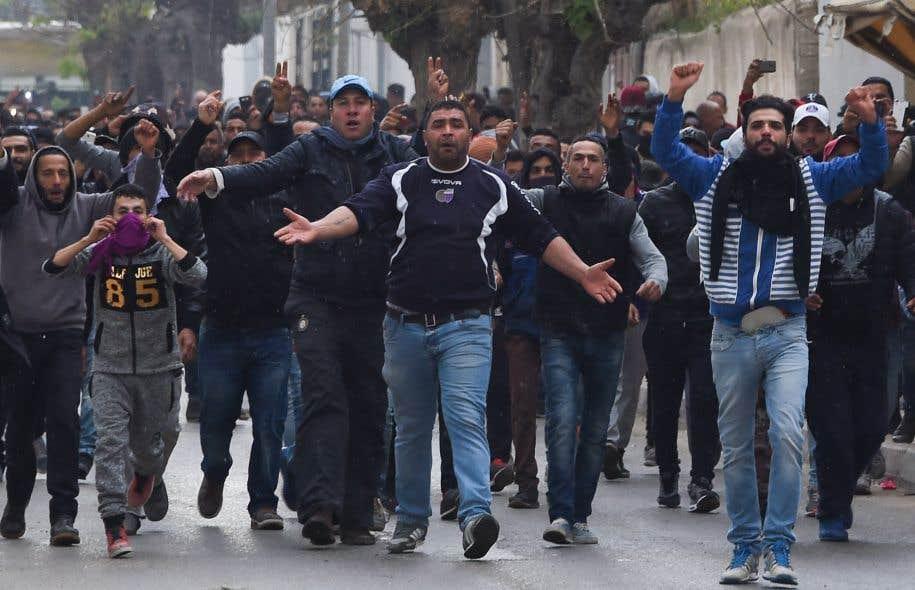 Les troubles avaient éclaté lundi, à l'approche du septième anniversaire de la chute du dictateur Ben Ali.