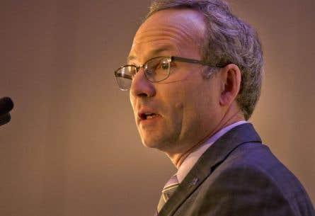 Le président du Conseil du trésor, Martin Coiteux