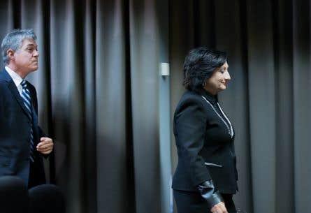 Renaud Lachance est en désaccord avec France Charbonneau au sujet des liens entre l'octroi de contrats publics et le financement des partis.